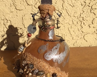 Pirate Fantasy Bottle Handmade