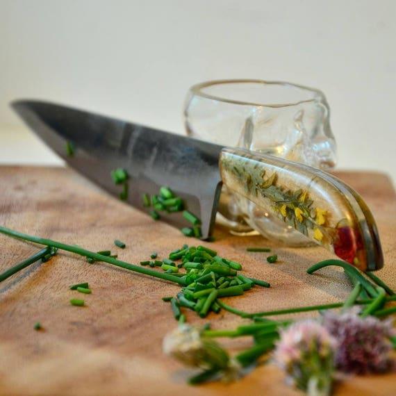 Benutzerdefinierte botanische Küchenmesser aus zu bestellen /