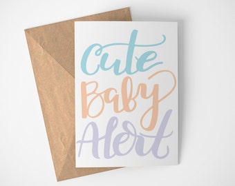 Baby Card Announcement, Baby Coming Soon, Card For Baby Shower, Baby Shower Card Boy, Baby Shower Card Girl, Baby Card Congratulations