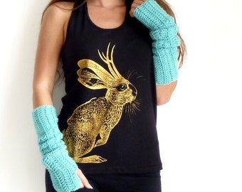 Crochet Arm Warmers in Aqua by Mademoiselle Mermaid