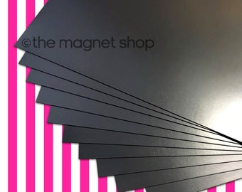 Plain A4 Magnetic Sheets 0.4mm for Crafts & Spellbinder Die Storage Nesting Dies Cardmaking Papercraft Placement Mat Fridge