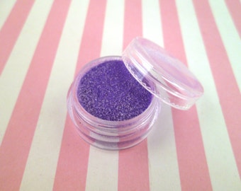 Ultraviolet kawaii fake Faux sugar sprinkles / 8 grams,  good for fake cookies and desserts