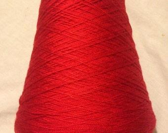 Perla red yarn
