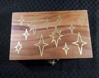 Astral - Tarot Deck Box - Walnut
