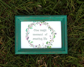 Coniferous forest Frame - Wedding Frames, Shabby Chic Rustic Picture Frames