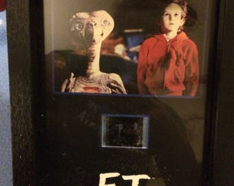 E.T. Extra Terrestrial Senitype Film Cell framed Collectible BLOCKBUSTER ET 2009 Extra Terrestrial No. 3630