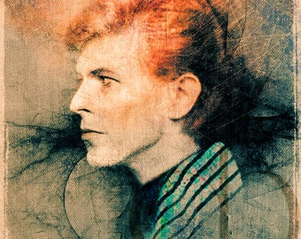 David Bowie - Limited Edition Print 11 x 17
