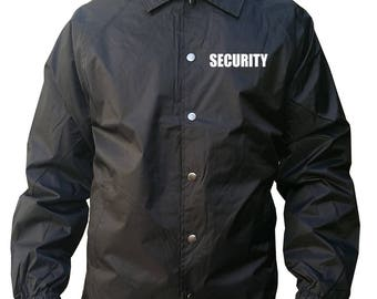 Security WindBreaker WaterProof Black/Navy