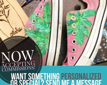 Shoe painting!