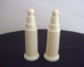 Vintage Art Deco Lucite Salt and Pepper Shakers