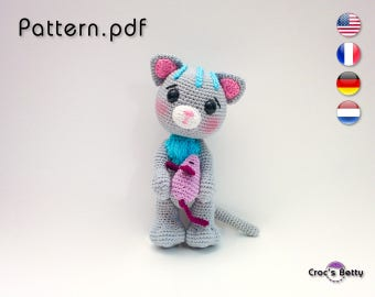 Pattern - Cat's Enough the Cat