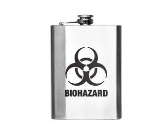 Biohazard Designer Flask
