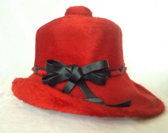 Vintage 1960's YVES SAINT LAURENT Hat