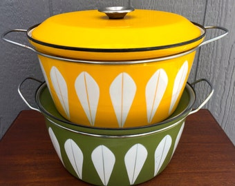 LARGE Cathrineholm Lobster Pot - YELLOW - Lotus