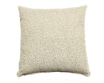 Coral Pillow Cover - Beige