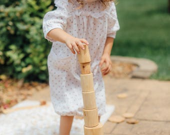 Waldorf Tree blocks / Building blocks / Tree Blocks set / Wood blocks