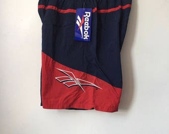 vintage reebok swim trunks mens size XL deadstock NWT 1993
