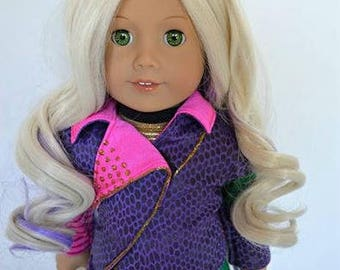 Zazou Dolls Exclusive  WIG for 18 Inch dolls such as Journey, Our Generation and American Girl