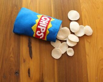 Felt Potato Chips
