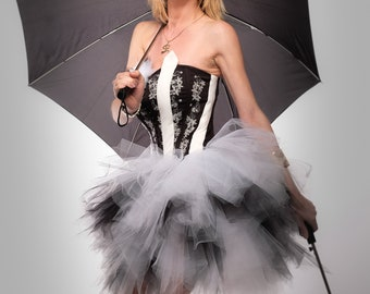 corset and tutu
