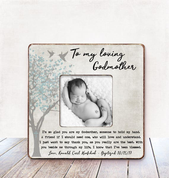Godmother Gift Baptism Gift Godmother Christening Gift