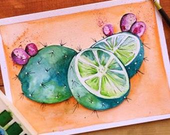 Cacti Limes!