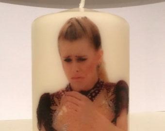 Tonya Harding candle