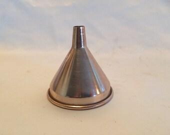 Vintage Anodized Aluminum Funnel