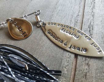 Personalized Fishing Lure, Personalized Mens Gift, Easter gift, Mothers day gift, Fathers day gift