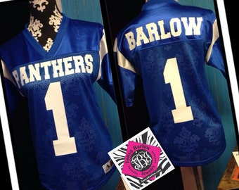 Customized Sports Jersey ~ Personalized Uniform ~ Youth and Adult Sizes ~ Can do any school or team