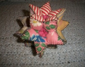 Vintage 12 Sided Pin Cushion