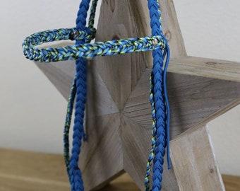 6 Strand Braid Bridle with Fringe