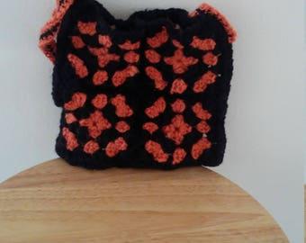 Black and orange bag