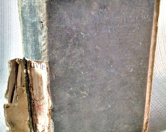 Antique Pentecostal Hymns no 1 and 2 combined ~ poor condition ~ published 1898 ~ 486 pages ~ religious music ~ hymnal ~ church choir