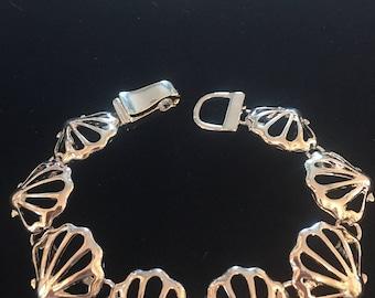 Sterling Silver Sea Shell Bracelet