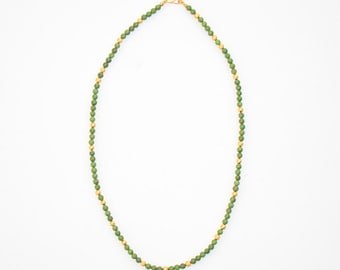 Slim Wasabi Necklace, 19 inches