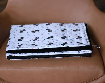 Dogs Weighted Therapy Blanket- all sizes and weight available