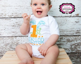 My First Easter, First Easter Shirt, Easter, First Easter, Easter Outfit, Baby Shower Gift, Boy Easter Shirt, Boy Easter (Shirt Only)