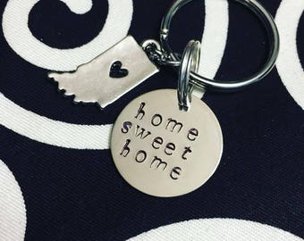 keychain with charm of choice