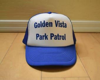 Vintage Mesh Snapback Trucker Hat Baseball Cap