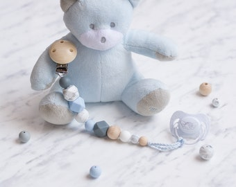 MARBLE BOY Pacifier Chain