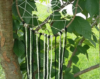Natural grapevine dreamcatcher