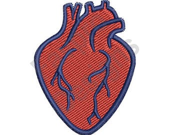 Human Heart - Machine Embroidery Design