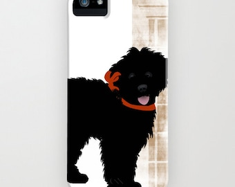 Labradoodle dog on Phone Case -  Labradoodle Gifts,   iPhone 6S, iPhone 6 Plus, Samsung Galaxy S6, iPhone 8