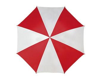 Resident Evil Umbrella Red White Umbrella Corporation