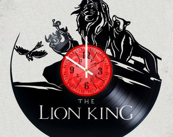 DISNEY LION KING Wall Clock ,  Sizes 12 inches Gifts Disney party decor lion king gifts for kids disney the best
