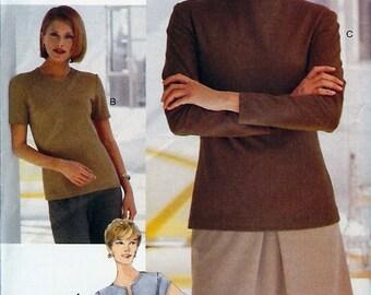 Very Easy Vogue Collectibles UNCUT Pattern 9904 - Misses/Misses Petite Top - 6-10