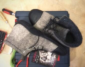 Shoes G48-49 for narrow feet felt shoes