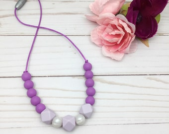 Child Non Toxic Jewelry | Kids Bijouterie | Teething Necklace | Toddler Necklace | Dress up Jewelry | Chew Necklace | Kid Sensory Necklace