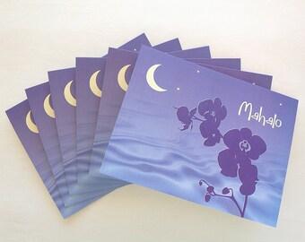 Mahalo Nights note cards